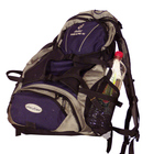 back pack, rucksack, knapsack, haversack, packsack, backpack