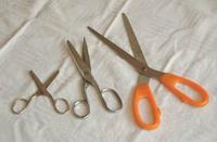 pair of scissors, scissors