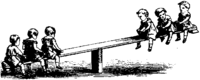 see-saw, seesaw